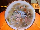 Superb Antique Hand Painted Japanese Satsuma Meiji Period Charger by Kozan