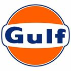 Gulf 2 PACK Vintage Style Vinyl Decal Sticker You Choose Size FREE SHIPPING