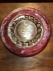 's Crown Luncheon Plate 8 1/4 Glass Days Indiana