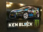 KEN BLOCK MONSTER ENERGY 4 x 3 MINI M CLAW GLOSSY DECAL STICKERS BRAND NEW