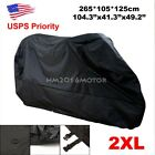 XXL Motorcycle Cover Extra Large For Honda VTX 1300 1800 TYPE C R S N RETRO US
