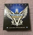 TRIUMPH(band) DIAMOND COLLECTION 10CD VINYL REPLICA BOX SET