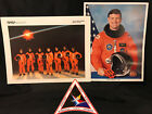 Space Shuttle Mission STS 39 Crew Picture Patch sticker  Astronaut Michael Coa