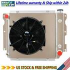 3 Row Radiator Shroud Fan For Jeep Wrangler TJ YJ GM Chevy V8 Conversion 87 02