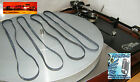 4 Belts New Replacement Turntables Linn LP12 Basik Axis