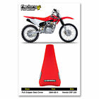 2003 - 2017 HONDA CRF 230 FULL GRIPPER SEAT COVER BY Enjoy MFG  Red