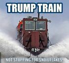 Donald Trump Train Refrigerator / Tool Box Magnet