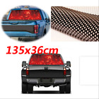 Durable Red Rear Window Flaming Skull Cool Sticker For SUV Jeep Pickup 135x36cm