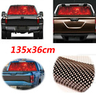New Style Window Flaming Skull Cool Sticker Car Sticker for SUV Jeep 135x36cm