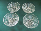 4 VTG PRESCUT GLASS 5 1/4