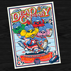 ARTIST SIGNED Dead  Company Poster November 12  14 2017 Madison Square Garden