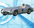 Auto Drawings Scale 1/12 1/16 1/24 1/32 MERCEDES-BENZ 300SLR Digital plan on cd