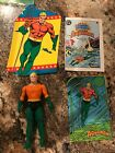 Kenner DC Super Powers Aquaman With Mini Comic And File Card