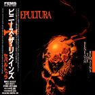 SEPULTURA Beneath The Remains JAPAN CD APCY-8006 1989