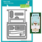 DOUBLE SLIDER SURPRISE LF1781 Lawn Fawn Dies  Christmas 2018 Cutting Dies