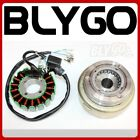 18 Pole Magneto Stator Roller Flywheel 200cc 250cc Engine PIT Quad Dirt Bike ATV