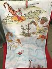 Vintage Winnie the pooh tigerpigletrabit Two Side Printed 1 Pillow Cover