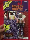 NECA Pee Wee's Playhouse Cowboy Curtis Poseable Figure Toy New NOS MOC 1987