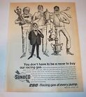 Vintage Sunoco 260 Racing Gas Magazine Ad Fuel and Oil