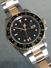 Amazing Rolex GMT Master II 16713 Gold / SS With Papers Look! Vintage