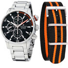 Maurice Lacroix Pontos S Black Dial StainlessSteel Mens Watch PT6008-SS002-332-1