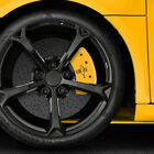 Rear Yellow Bar  Pony Caliper Covers For 2005 2014 Ford Mustang by MGP