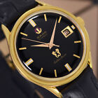 VINTAGE RADO Golden Horse AUTOMATIC 30 JEWELS DATE ANALOG DRESS MEN'S WATCH