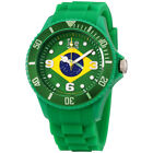 Ice World Brazil Edition Multi-Color Dial Silicone Strap Unisex Watch WO.BR.B.S.