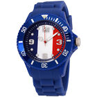 Ice World France Edition Multi-Color Dial Silicone Strap Unisex Watch WO.FR.B.S.