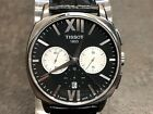TISSOT Stainless Steel T-LORD AUTOMATIC CHRONOGRAPH Black Dial Watch T059527 A