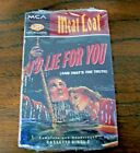 MEAT LOAF!  I'D LIE FOR YOU, ANYTHING FOR LOVE, BRAND NEW CASSETTE, SEALED!