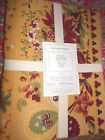 WILLIAMS SONOMA BERRY MEADOW TABLECLOTH YELLOW70 x 90 NEW FRENCH PROVENCIAL