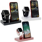 Charging Stand Dock Station Charger For Apple Watch Series 4 3 2 1 iPhone Xr Xs