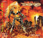 DORO - Fear No Evil +1 / New OBI Japan CD 2009 / Female Fronted Heavy Metal
