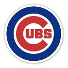 Chicago Cubs 2 PACK Die Cut Vinyl Decal Sticker You Choose Size FREE SHIPPING