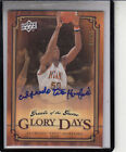 2009-10 UD GREATS OF THE GAME TITO HORFORD GLORY DAYS 10 AUTOGRAPH AUTO