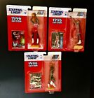 1996 Starting Lineup basketball lot of 3, Stackhouse, Howard, and Payton