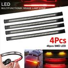 4x LED Strip Tail Brake Turn Signal for Victory BMW Touring Cruiser Sports Bike