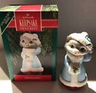 Hallmark Ornament Christmas Kitty Cat 1990 BX-E