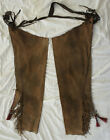 Native American Leather Chaps pants western Comanche Movie Prop Lone Ranger 1