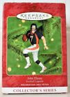 RARE NEW 2000 HALLMARK JOHN ELWAY DENVER BRONCOS FOOTBALL LEGENDS ORNAMENT NICE