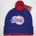Mitchell & Ness NBA Los Angeles Clippers Cuffed Pom Knit Beanie 6305