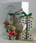 Hallmark Ornament 2010 My Second Christmas Child's Age Collection NEW