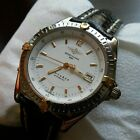 Breitling Antares Automatic 18K & SS B10048 W/New Breitling Straps Box & Papers