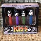 KISS Limited Edition 2013 PEZ 4 piece set in Factory Sealed Collectible Tin