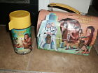 1967 Aladdin Its About Time Dome Lunchbox with Thermos lunch box