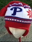 Philadelphia Phillies Winter Hat Beanie One Size Fits All