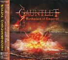 GAUNTLET - Birthplace of Emperor / Japan OBI New CD 2014 / Power Metal Galneryus