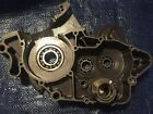 2004 04 KTM 200EXC 200 EXC Right Side Engine Case Bottom End Crank Bearings