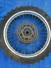 1997 97 Honda Cr250 Cr 250 Cr250r Rear Wheel Assembly Rim Hub Tire Spokes